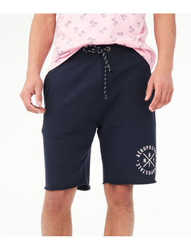 Aero Circle Fleece Shorts by Aeropostale