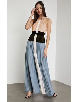 Constantine Color Blocked Gown by Bcbgmaxazria