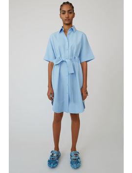 Robe Chemise Bleu Clair by Acne Studios