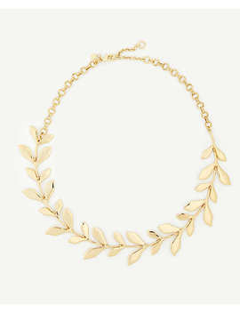 Leaf Necklace by Ann Taylor