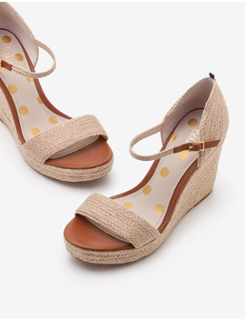 Lily Espadrille Wedges by Boden