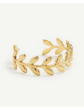 leaf-petal-cuff-bracelet by ann-taylor