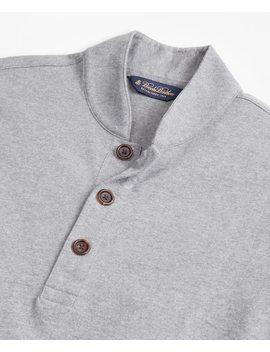 Baseball Collar Henley by Brooks Brothers