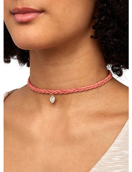 Trio Of Reversible Stud Earrings And Chokers by Rainbow