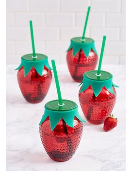 Darling Drinking Glass Jar Set by Modcloth