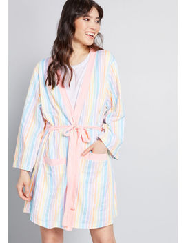 Collectif X Mc Brightened Downtime Robe by Collectif