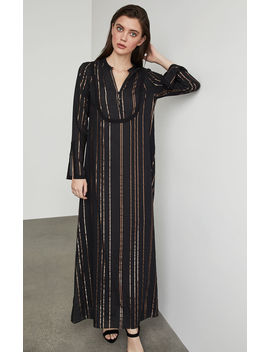 Striped Maxi Dress by Bcbgmaxazria