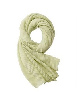 Love And Lore Pleated Scarf Solid Sage by Love & Lore