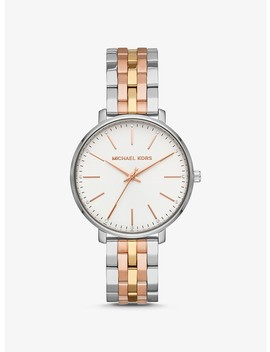 Pyper Tri Tone Watch by Michael Kors