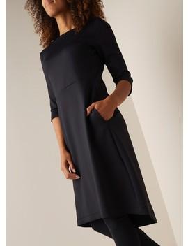arlene-a-lijn-jurk-met-steekzakken-en-stretch by expresso