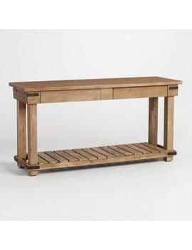 distressed-wood-cameron-console-table by world-market