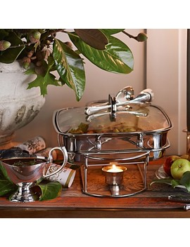 Cuisinart Rectangle Stainless Steel Chafing Dish by Williams   Sonoma