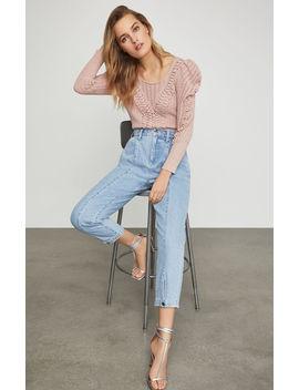 Snap Cuff Trouser Jean by Bcbgmaxazria