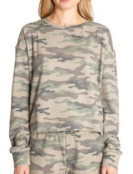 Kind Is Cool Camouflage Top by Pj Salvage