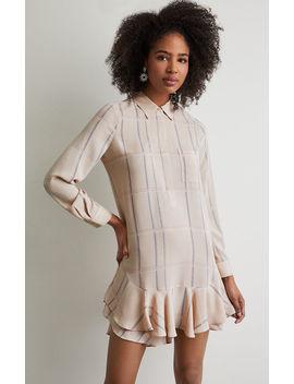 Peggy Plaid Print Dress by Bcbgmaxazria