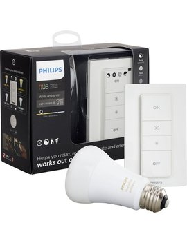 Hue White Ambiance A19 Led Recipe Kit   Adjustable White by Philips
