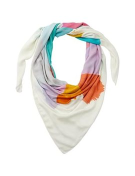 Love And Lore Square Blanket Scarf Painted Rays by Love & Lore