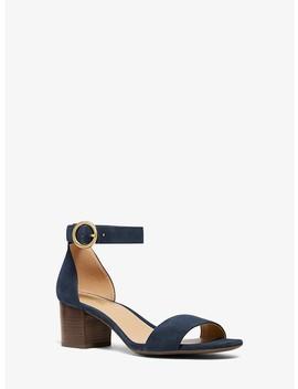 Lena Suede Sandal by Michael Michael Kors