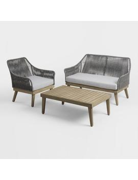 Gray Rapallo Outdoor Occasional Collection by World Market