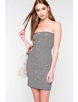 Feel My Love Tube Dress by A'gaci