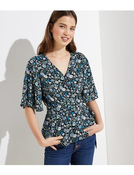 Garden Wrap Top by Loft