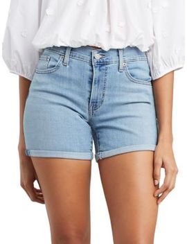 Faded Denim Shorts by Levi's