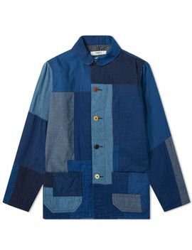 Fdmtl Sashiko Coverall Jacket by Fdmtl