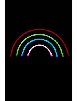 Rainbow Led Neon Light by Earthbound