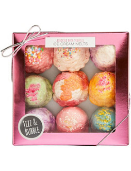 Assorted Bath Truffle Ice Cream Melts by Fizz & Bubble