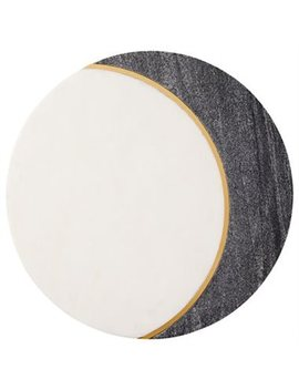 Crescent Moon Marble Board by Indigo