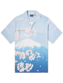 Blue Blue Japan Mount Fuji Vacation Shirt by Blue Blue Japan