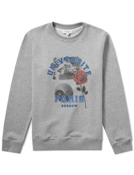 Soulland University Paris Crew Sweat by Soulland
