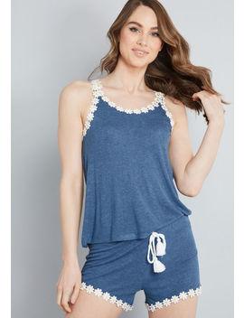 Lazy Daisy Knit Pajamas by Modcloth