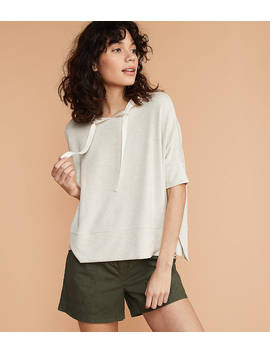 Lou &Amp; Grey Signaturesoft Swingy Hoodie Top by Loft