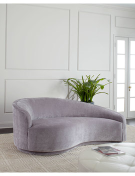 Dana Left Curved Chaise by Interlude Home