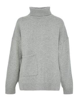 Oversized Cashmere Turtleneck Sweater by Tibi