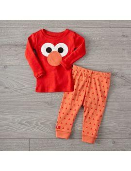 Sesame Street Elmo 18 24 Months Pajama Set by Crate&Barrel