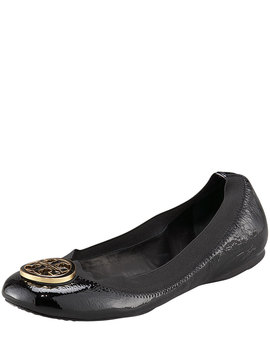 Caroline Patent Ballet Flat by Tory Burch