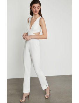 Sleeveless Cutout Back Jumpsuit by Bcbgmaxazria