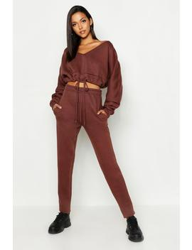 Tall Slouchy Off The Shoulder Lounge Set by Boohoo