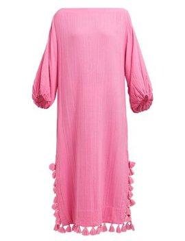 Delilah Pom Pom Cotton Dress by Rhode Resort