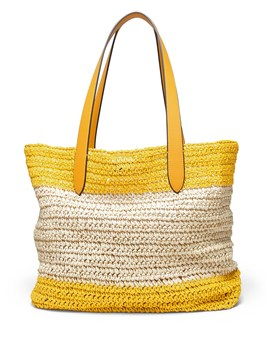 Straw Beach Tote Bag by Banana Repbulic