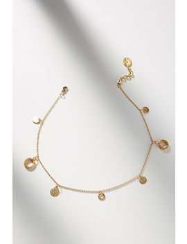 Liza Echeverry New York 24 K Gold Plated Charm Bracelet by Liza Echeverry