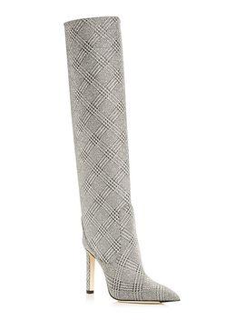 Women's Mavis 100 Pointed Toe High Heel Boots by Jimmy Choo