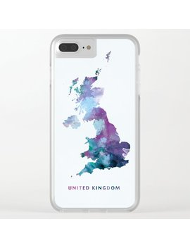 United Kingdom Clear I Phone Case by Society6
