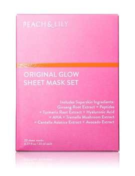 Original Glow Sheet Mask Set by Peach &Amp; Lily