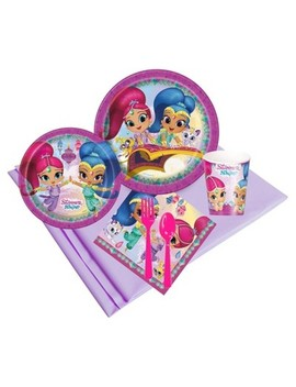 Shimmer And Shine Guest Party Pack by Shop This Collection
