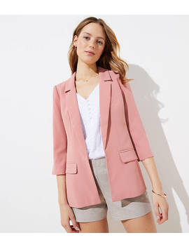 Long Open Blazer by Loft