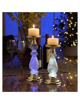 Candle Holder Lighting Decor (Set Of 2) by Legion Furniture