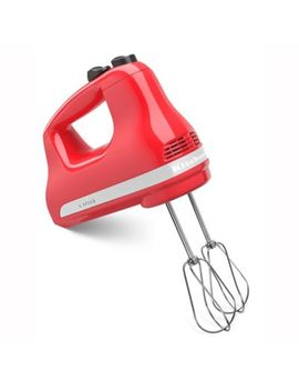 Kitchen Aid® 5 Speed Hand Mixer In White by Bed Bath And Beyond